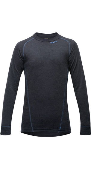 Devold Juniors Duo Active Shirt Black/Blue